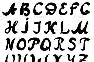 Font AtanasBrush
