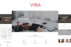 VIBA - Start Up Wordpress Theme