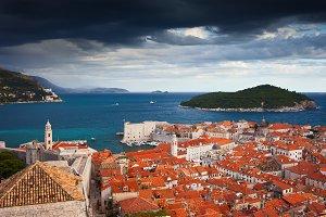 Old City of Dubrovnik in Croatia