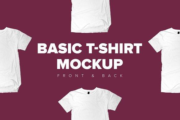 Download Basic T-Shirt Mockup