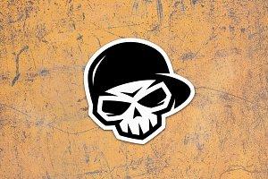 Skull in Cap (3)