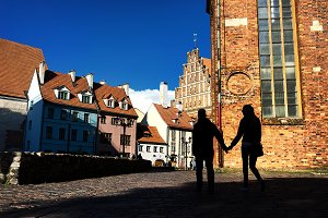 Riga. Latvia. Spring
