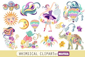 WHIMSICAL clipart