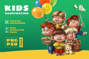 Kids illustration