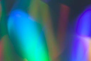 Rainbow Laser Prism Bokeh