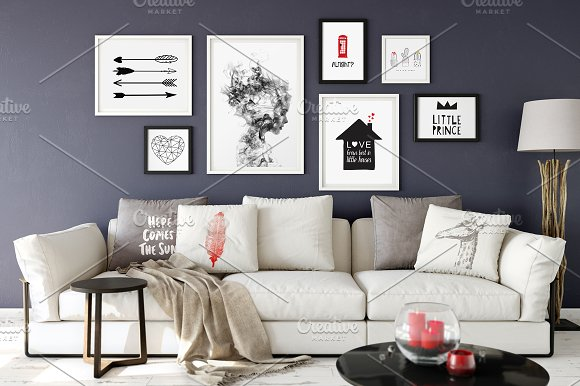 Download Scandinavian Frame Mockup_09