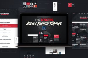 The Sketch - PSD Template