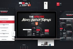 The Spectre - HTML Template