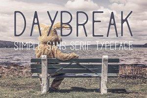 Daybreak Typeface