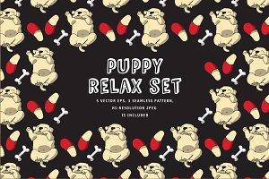 Puppy relax set