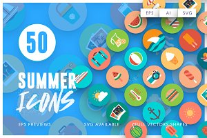50 Summer Icons