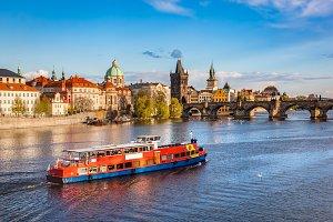 Architecture of Prague.