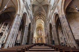 St. Vitus Cathedral, Prague.