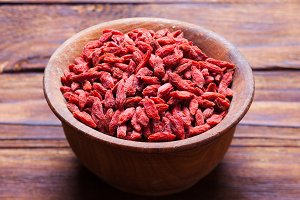 The Goji berries