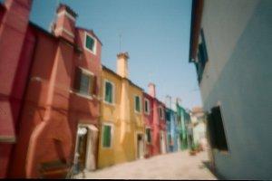 Pinhole Venice. Burano