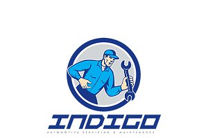 Indigo Automotive Logo