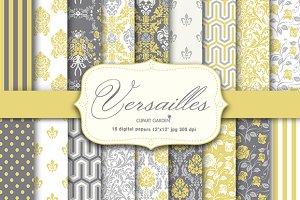 18 elegant Versailles style papers