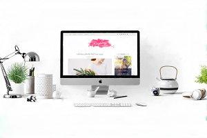 Raspberry Light Blogger Template