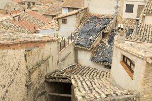 Roofs of houses in Valderrobres