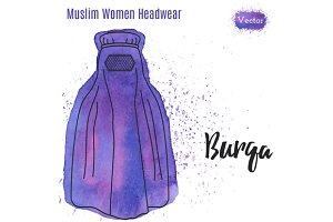 Muslim, Islamic female headgear