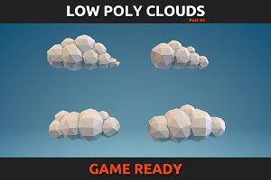 Low Poly Clouds Part 1