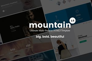 Mountain - Big. Bold. Beautiful