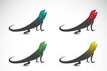 Vector group of chameleon.