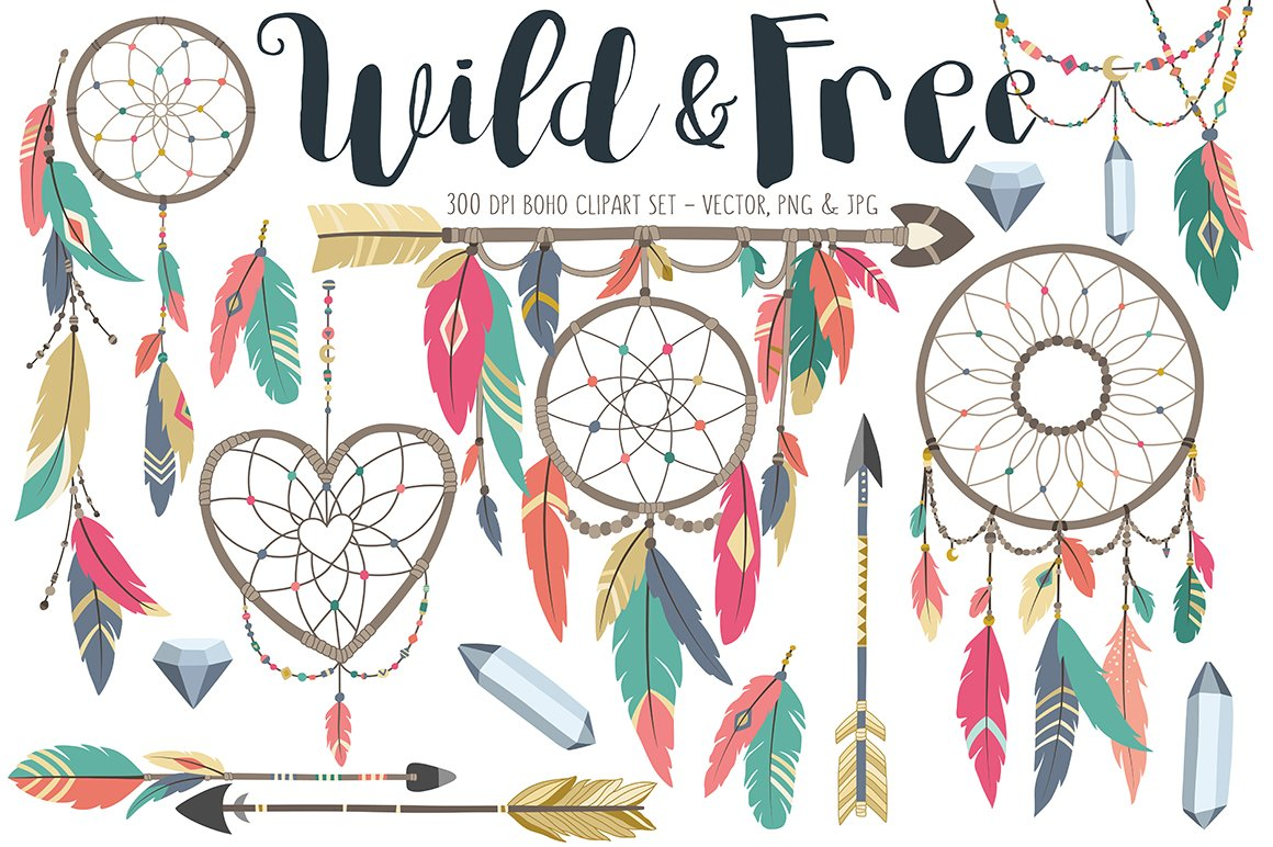 free vector green boho - photo #15