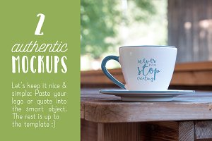Authentic Cup Mockups Vol. 01