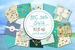 Big Sea Sale! 70 percent off!
