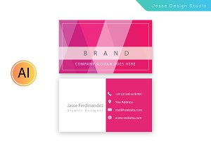 Modern Business Card Template Vol-07