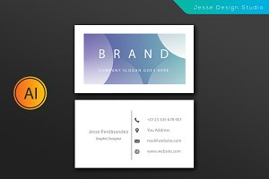 Modern Business Card Template-Vol 8