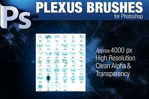 CG Plexus Brushes for Photoshop
