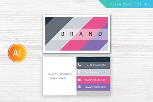 Modern Business Card Template Vol-10