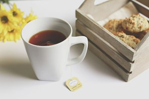 Tea and Scones- Lifestyle Images