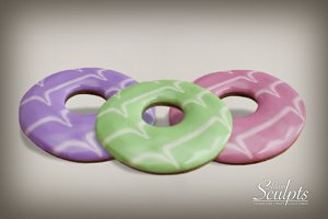 Iced Biscuit Rings