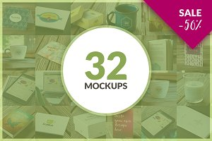 32 Mockups ValuePack BUNDLE