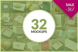 32 Mockups ValuePack BUNDLE