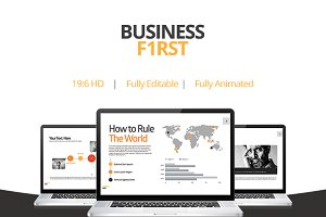Business First - Keynote Template