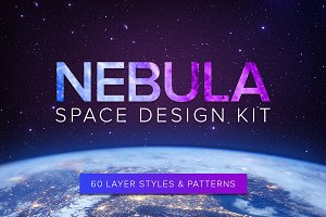 Nebula Space Design Kit - 60 Styles
