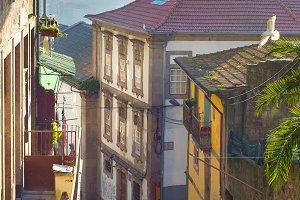 Traditional Porto street, Portugal