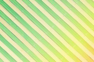 Wooden sticks texture in gradient