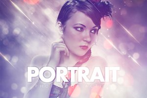 Portrait Photoshop Action