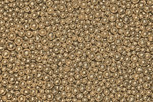 golden balls background