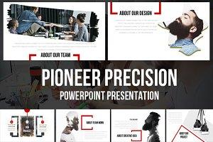 Pioneer Powerpoint Creative