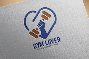 Gym Lover Logo Template