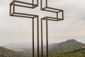 Cross in Mountain