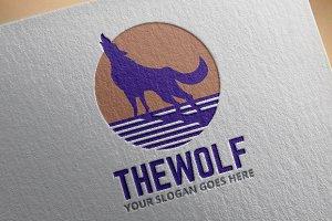Wolf Logo Template