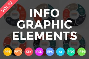 Infographic Elements Vol.12