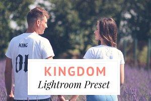 Kingdom Lightroom Preset